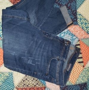 Seven7 by Melissa McCarthy cropped skinny jeans